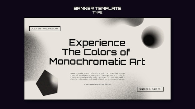 Vorlage für einfarbige kunstbanner