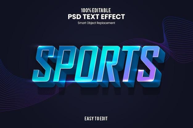 Vorlage für sportliche texteffekte