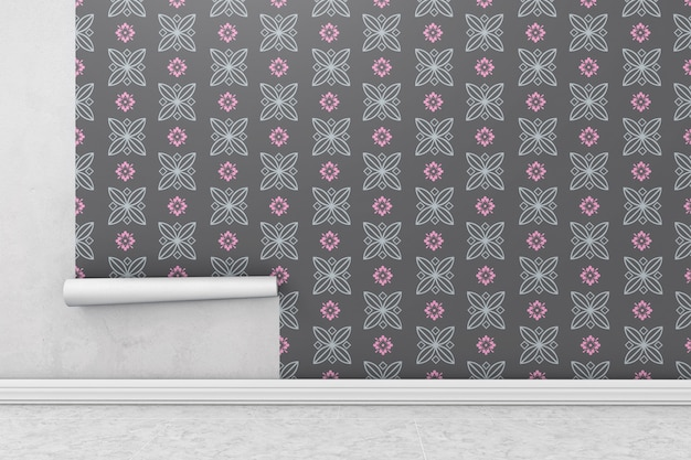 Wallpaper roll-modell