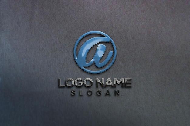 Wandbüro 3d-mockup-logo