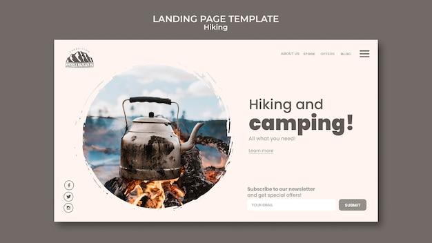 Wander-landingpage
