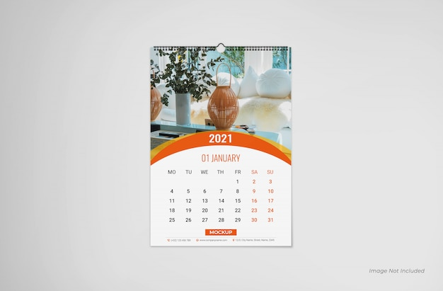Wandkalendermodell, kalendermodell