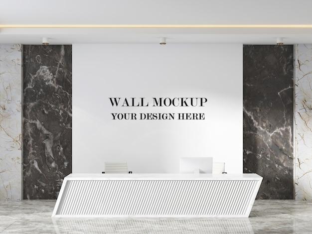 Wandmodell in moderner rezeption mit minimalistischem design