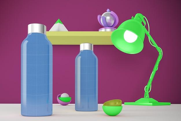 Wasserflasche desktop
