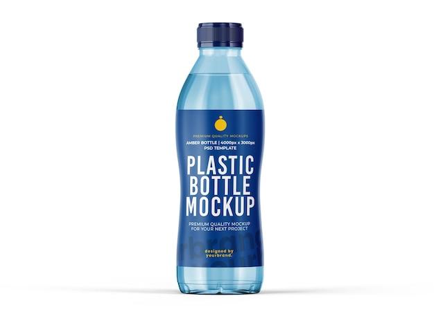 Wasserflasche mockup vorlage