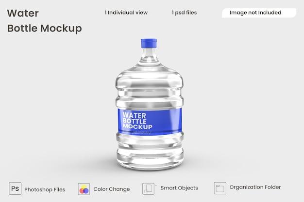 Wasserflaschenmodell premium psd