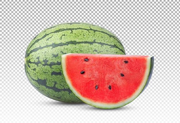 Wassermelone isoliert