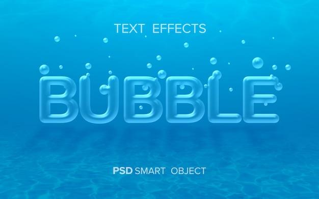 Wassertexteffektmodell m