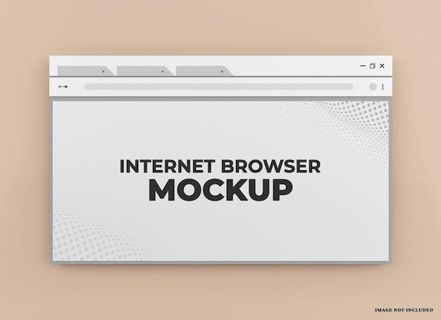 Webbrowser-modell