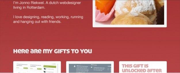 Webseite portfolio-layout