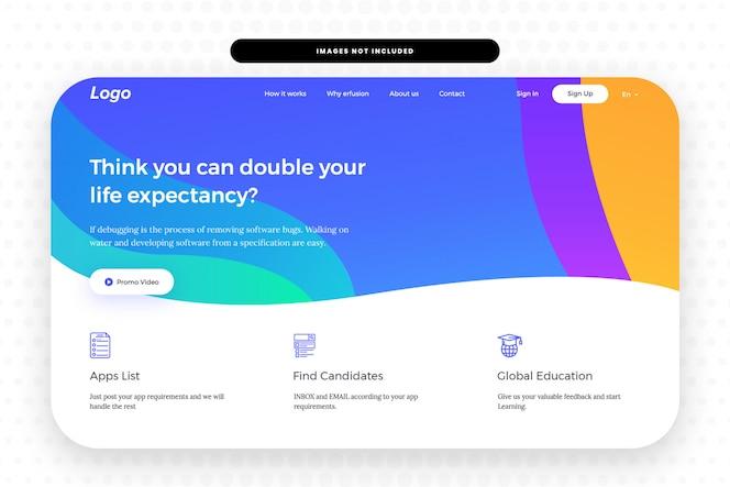 Website hero banner