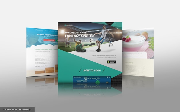 Website-modell