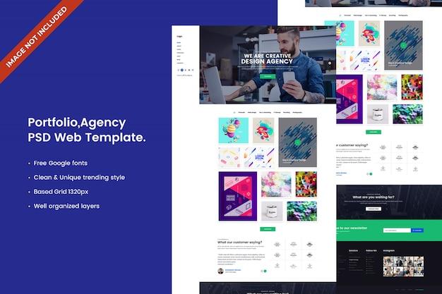 Webvorlage der kreativagentur