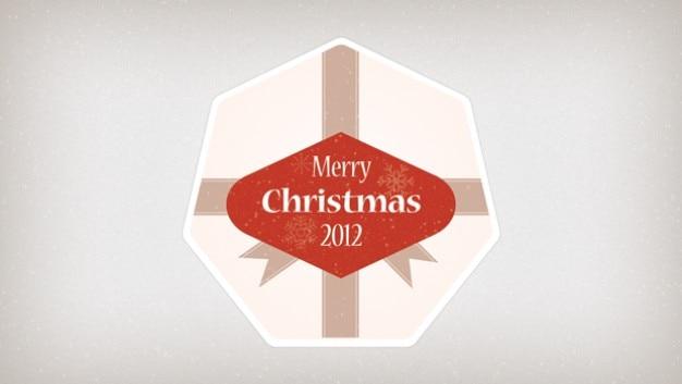 Weihnachten abzeichen