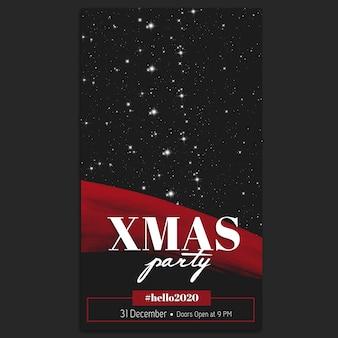 Weihnachten instagram story template