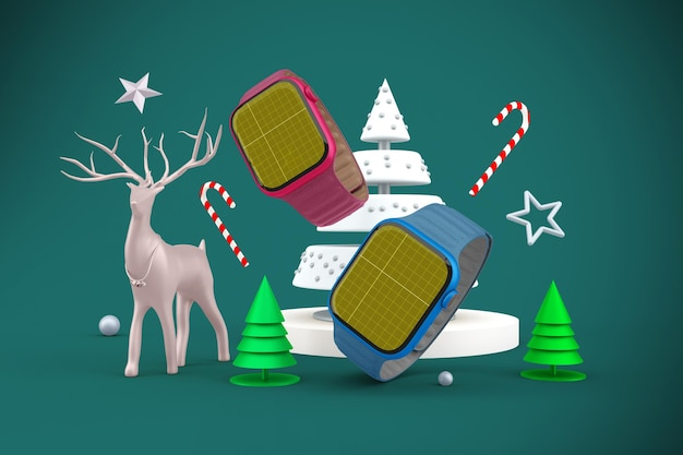 Weihnachts-smartwatch
