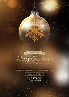 Weihnachtsbanner für verkäufe