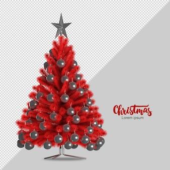 Weihnachtsbaum in 3d gerendert