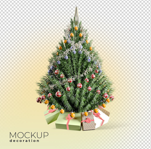 Weihnachtsbaum interieur 3d modell