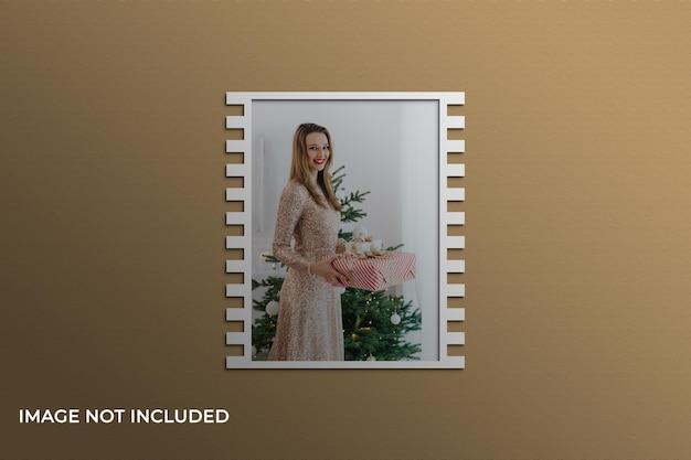 Weihnachtsbilderrahmen mockup premium psd