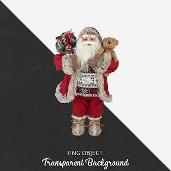Weihnachtsgegenstand auf transparentem