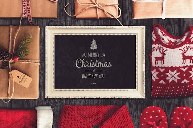Weihnachtskarte-modell