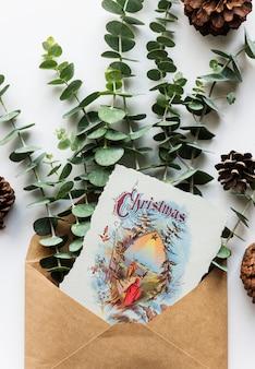 Weihnachtskarte wünschen
