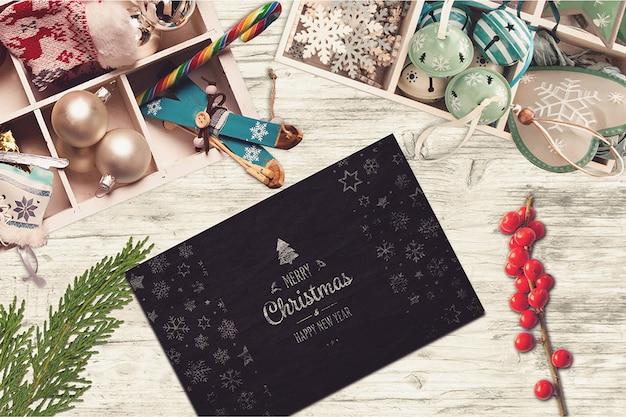 Weihnachtskarten-modell