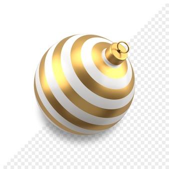 Weihnachtskugel 3d-symbol