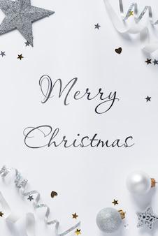 Weihnachtsmodellkarte