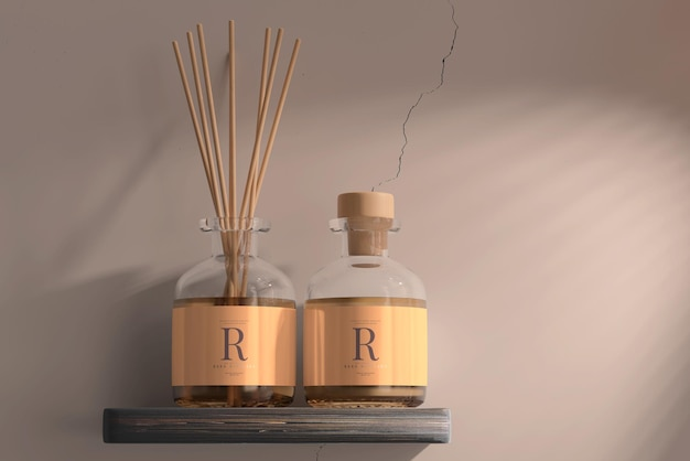 Weihrauch lufterfrischer reed diffusor glasflasche modell