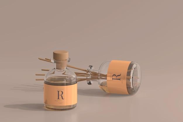 Weihrauch lufterfrischer reed diffusor glasflasche modell Kostenlosen PSD