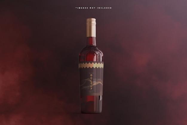 Weinflaschen-branding-mockup