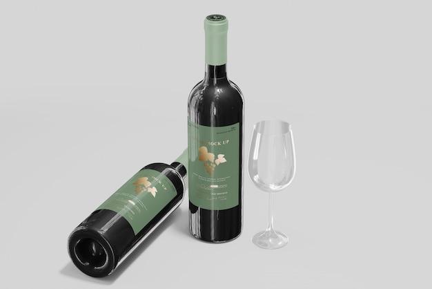 Weinflaschen modell