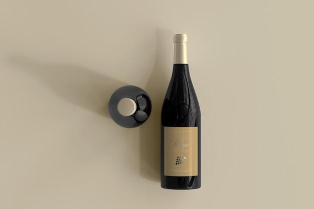 Weinflaschenmodell