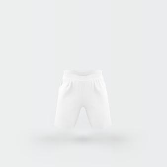 Weiße hose schwimmt auf weiß
