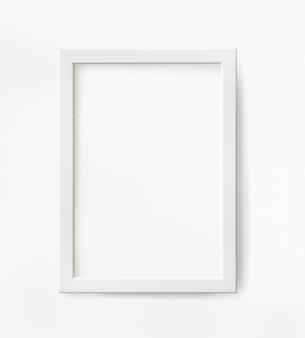 Weißes bilderrahmenmodell