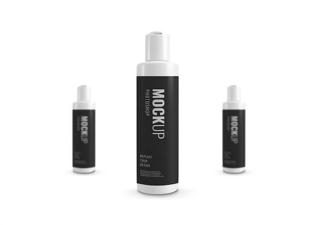 Weißes flaschenmodell