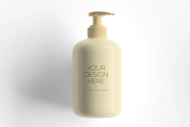 Weißes kosmetikbehältermodell Premium PSD