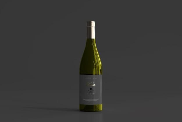 Weißweinflaschenmodell