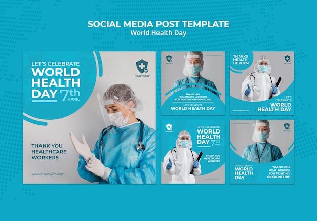 Weltgesundheitstag instagram beiträge gesetzt