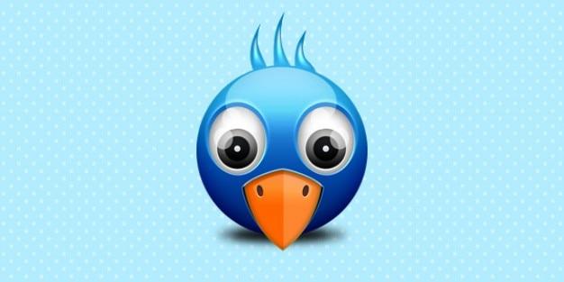 Wenig twitter birdie-symbol