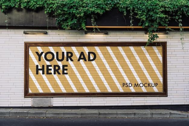 Werbeplakatmodell
