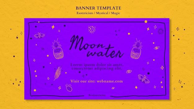 Werbevorlage für banner-esoterik