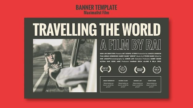 Werbevorlage für banneragenturen