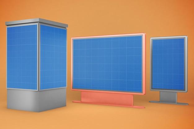 Werbung ramadan geschenkbox design mockup