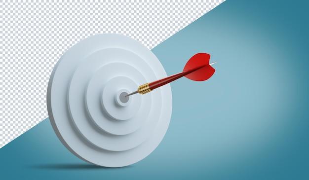 Wettbewerbsvorteil, 3d-illustration des strategischen marketingkonzepts