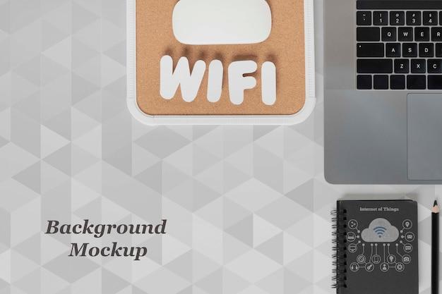 Wifi-netzwerk für moderne geräte