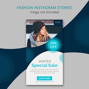 Wintermode instagram geschichte