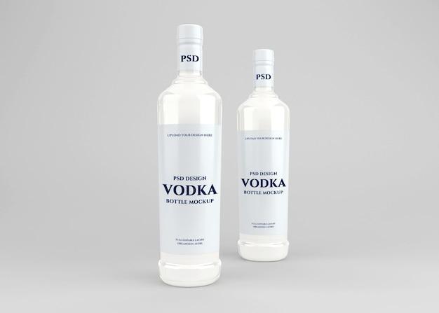 Wodka alkohol flasche etikett modell